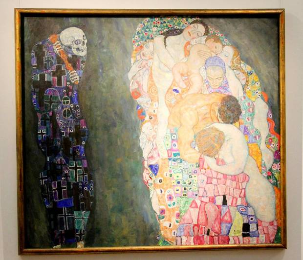 Masterpieces by Egon Schiele and Gustav Klimt in Leopold Museum, Vienna