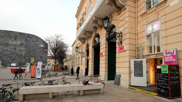 MQdaily Restaurant, Museum Quarter, Vienna
