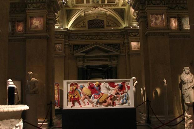 Bunte Götter (Gods in Color) Exhibition, 13 November 2012 - 17 March 2013, Kunsthistorisches Museum Wien
