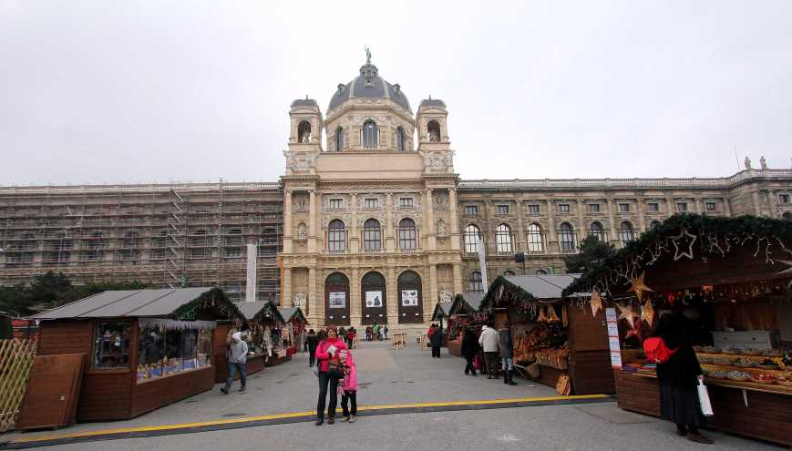 The Museum of Natural History, Vienna, (Naturhistorisches Museum Wien)
