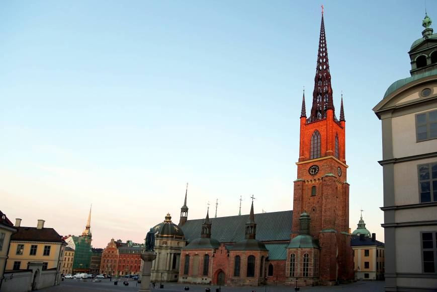 The Riddarholmen Church, Stockholm, Sweden