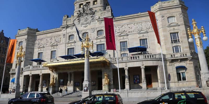 Stockholm's National Theater, Stockholm, Sweden