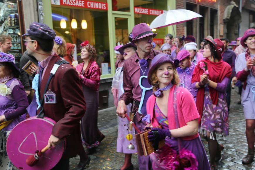 Zinneke Parade, May 10, 2914, Brussels