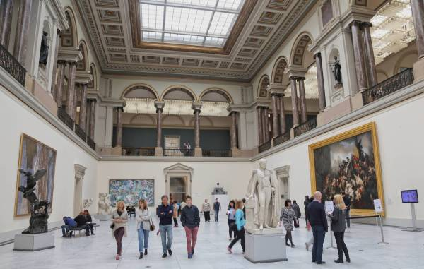 Royal Museums Of Fine Arts Brussels Belgium Travel