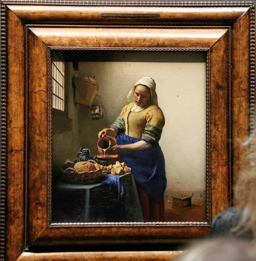 The Milkmaid (Vermeer), Rijksmuseum,  Amsterdam, Netherlands
