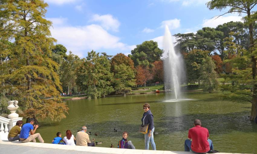 Crystal Palace, Retiro Park, Madrid