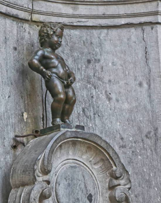 Manneken-Pis, Brussels, Belgium