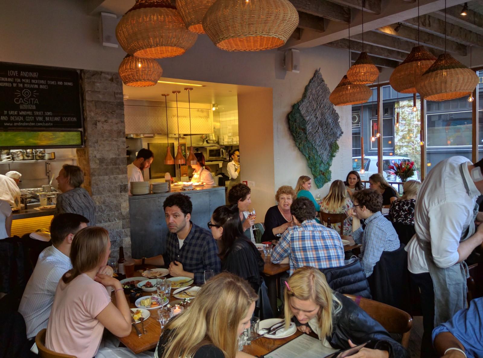 Peruvian Restaurant Andina, London