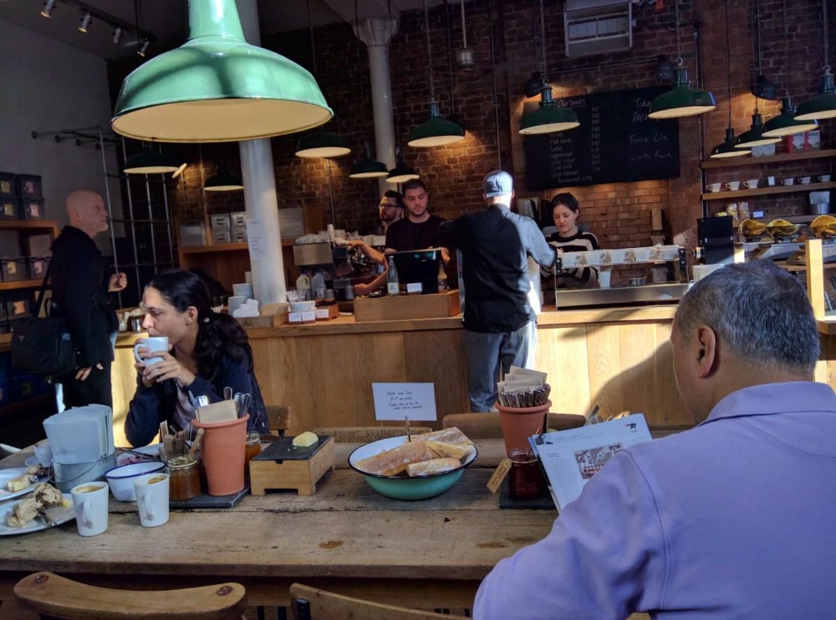 Monmouth Coffee, Borough Market, London
