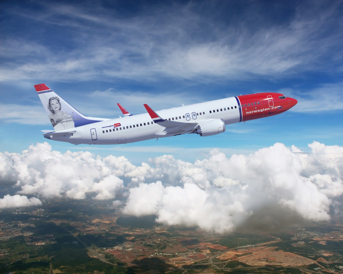 Low-cost airline Norwegian