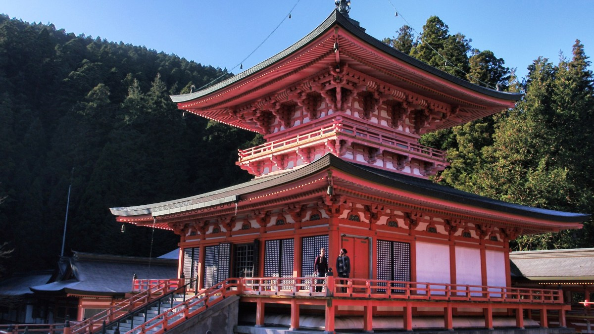 Ancient Buddhist practices live on unchanged at Enryakuji Temple, nestled on Mount Hiei in Shiga Prefecture