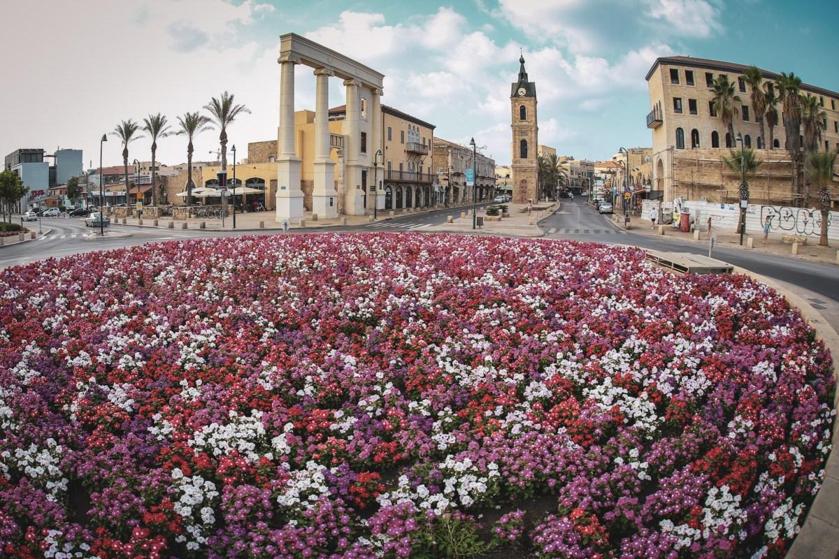Old Town of Jaffa in Tel Aviv