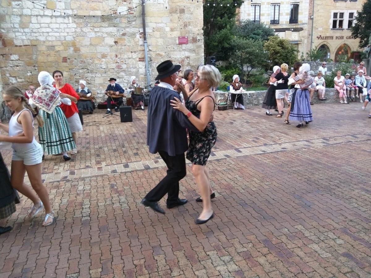 Folk dances in Bergerac, France
