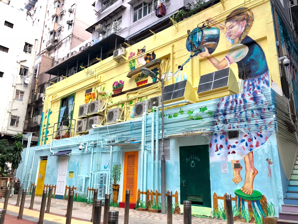 "The art experience in Hong Kong is not limited to standalone events and places. Out in the open, art has penetrated the corners of different neighborhoods, inviting the curious to explore these living ""street art museums."""