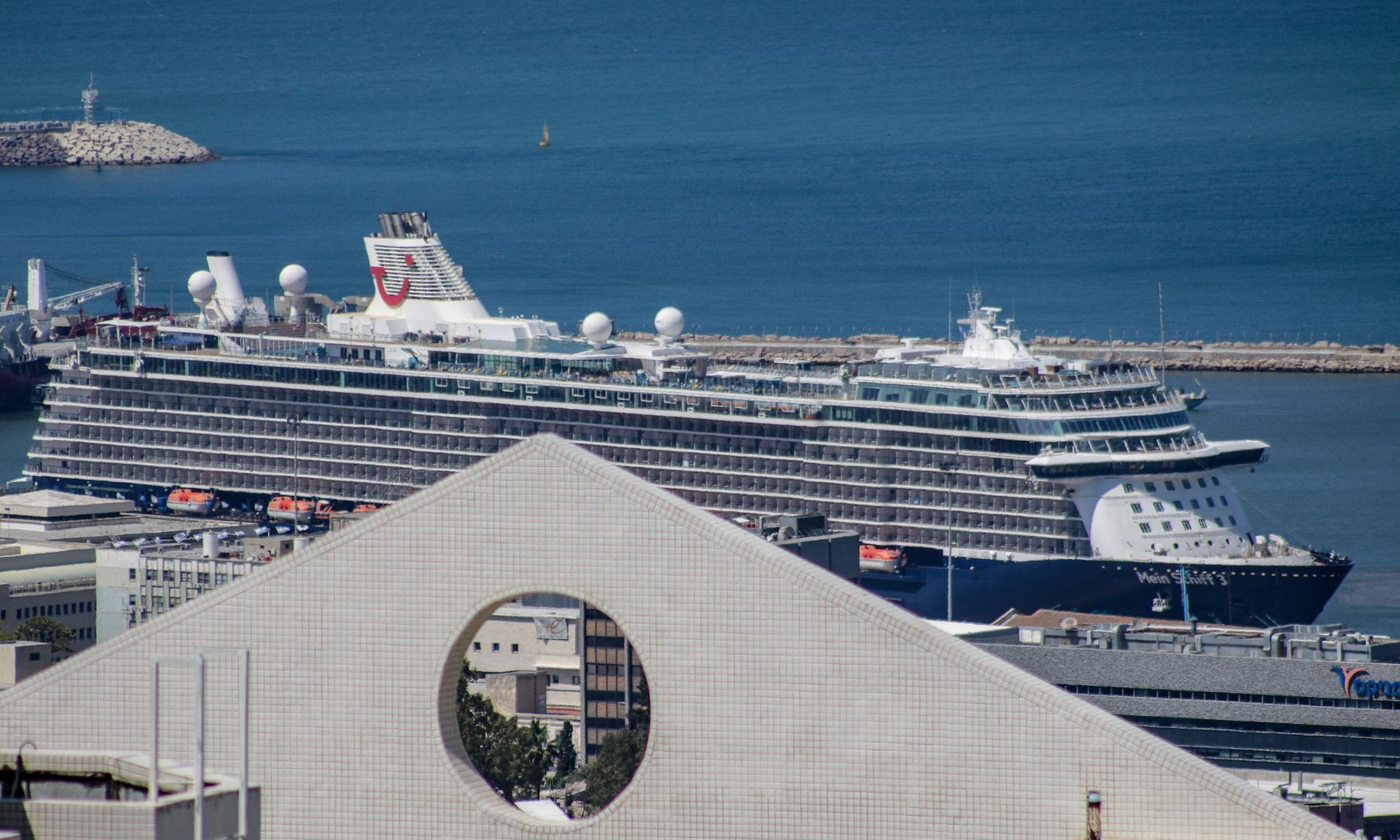 Cruise Ship Mein Schiff 3 in Haifa