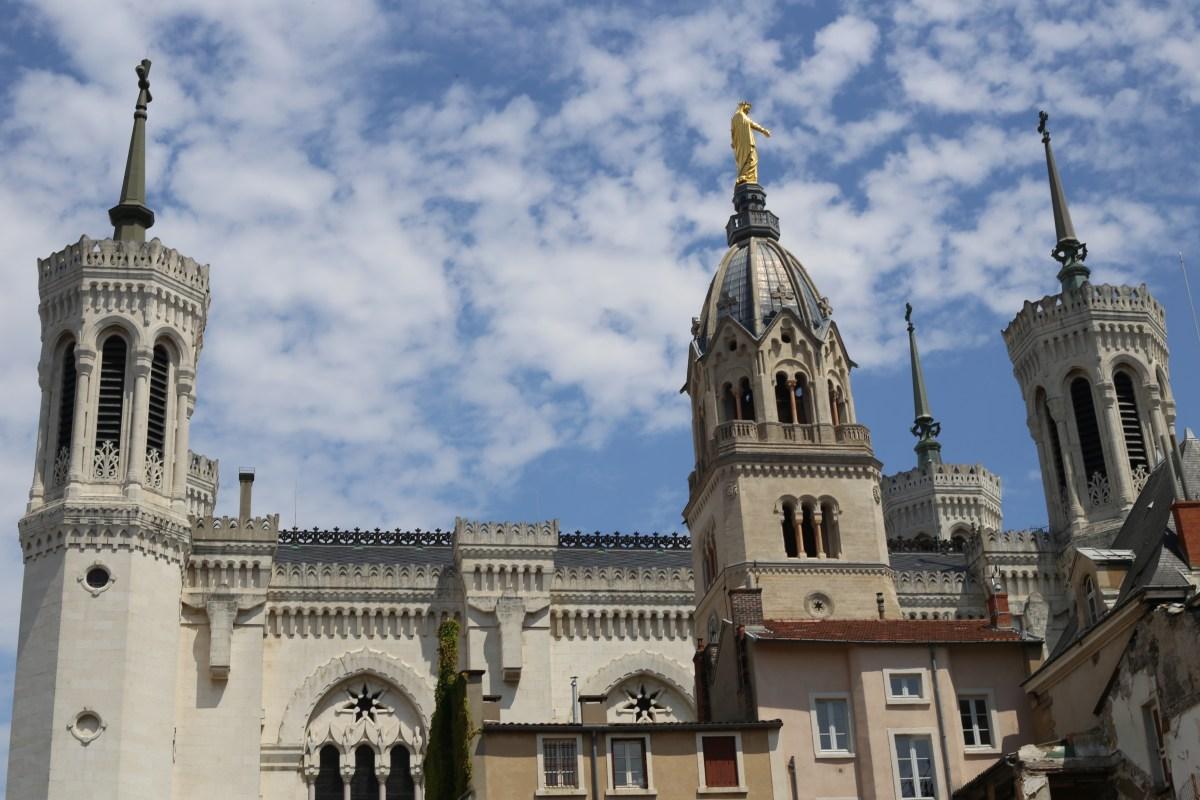 La Basilique Notre Dame de Fourvière, Lyon