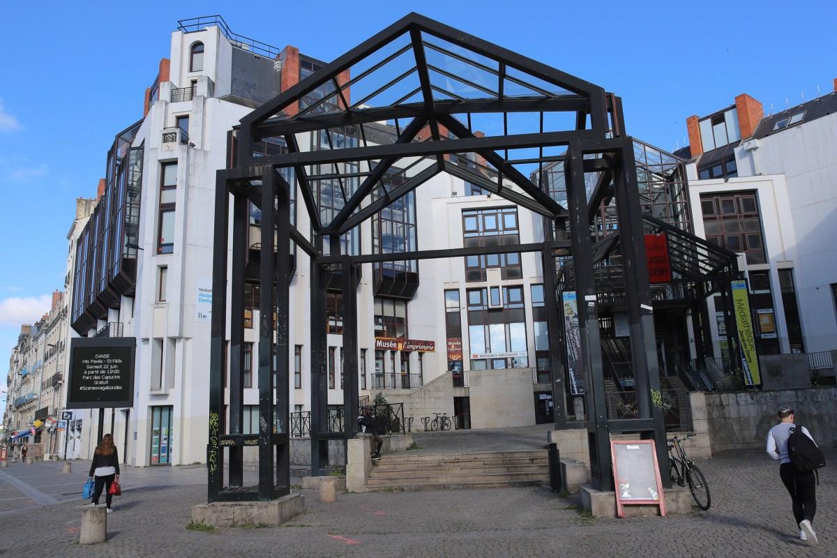 Le Musée de l'imprimerie de Nantes, France