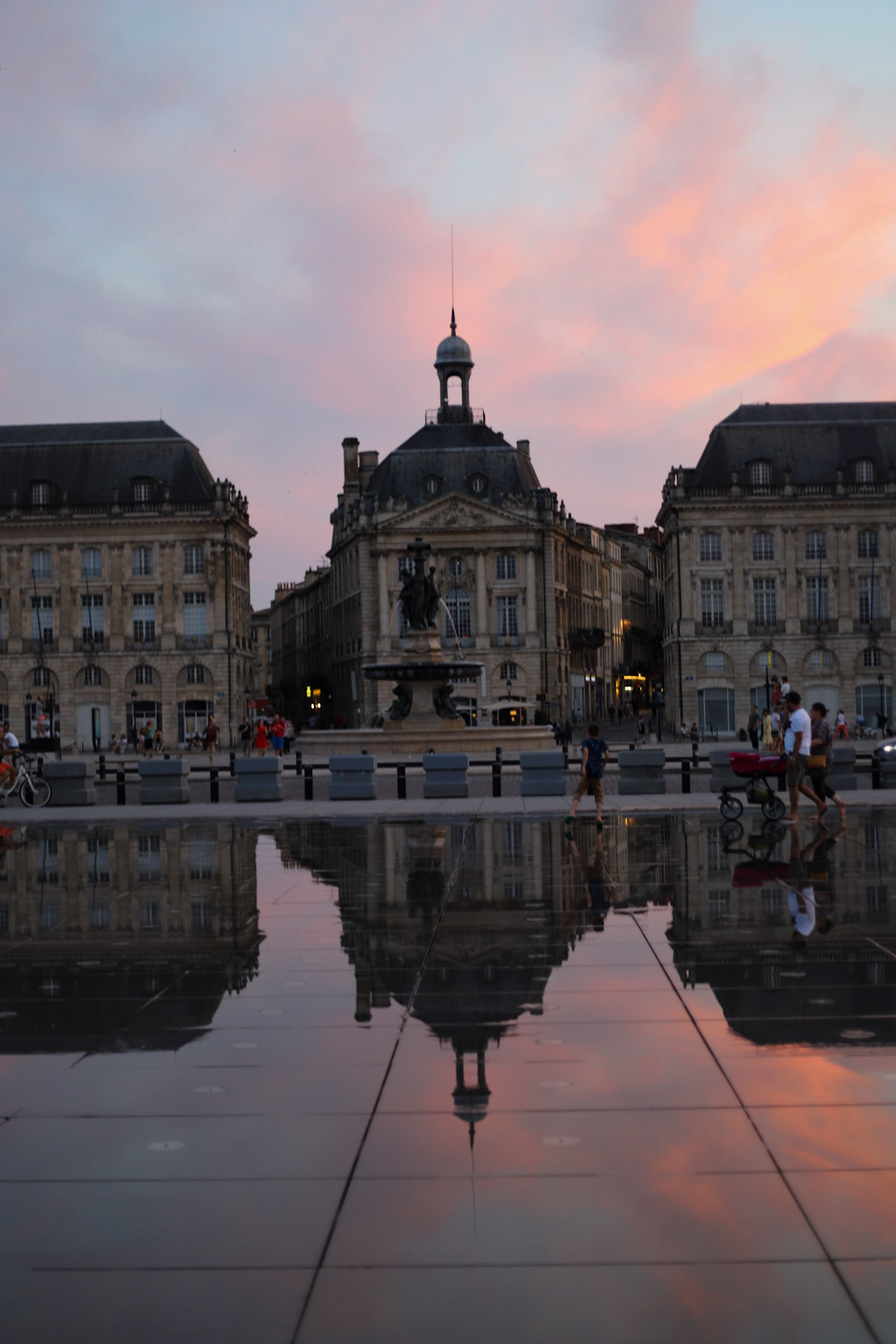Sunset in Bordeaux