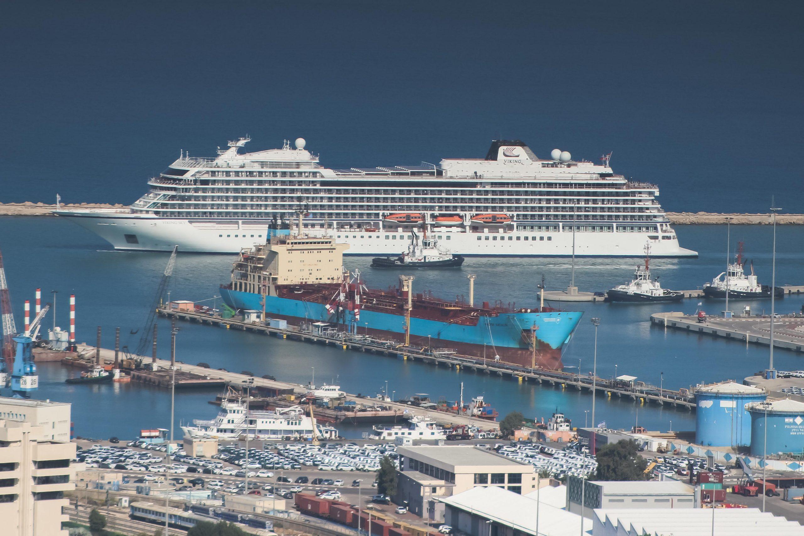 Cruise ship Viking Sky on Mediterranean cruise