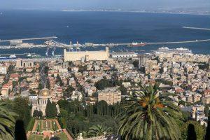 Cruise ship Viking Sky visits Haifa as part of the Mediterranean cruise
