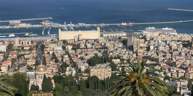 Panorama of Haifa Bay