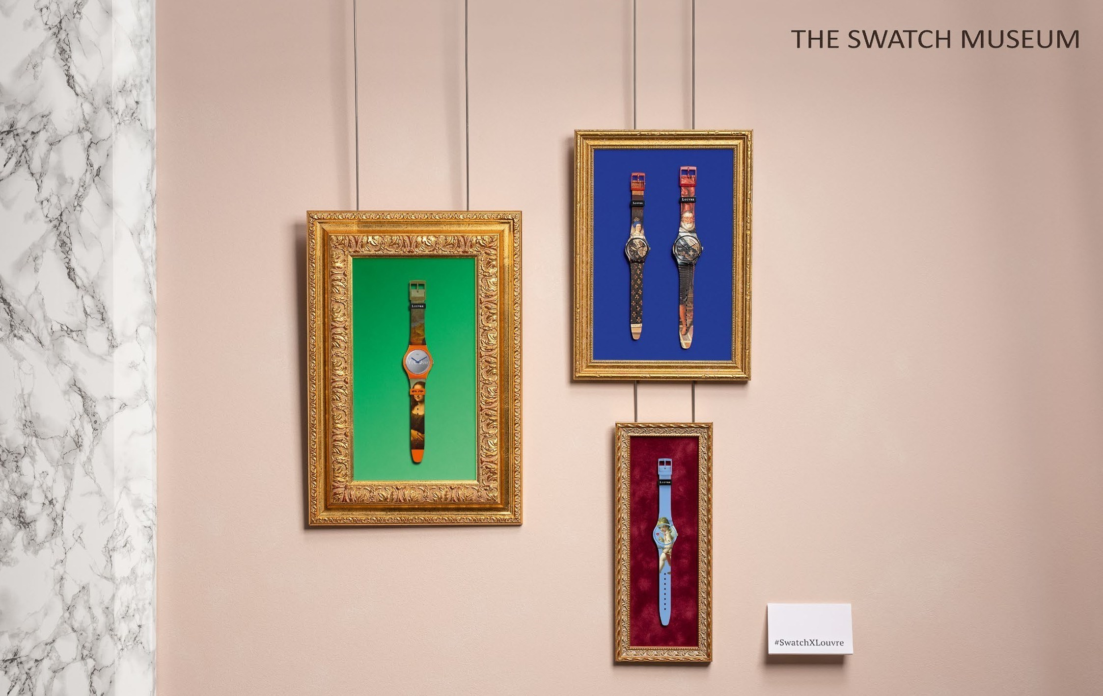 The Louvre and Swatch Museum come together