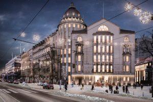 Grand Hansa Hotel's historical façade will represent Helsinki's fascinating past