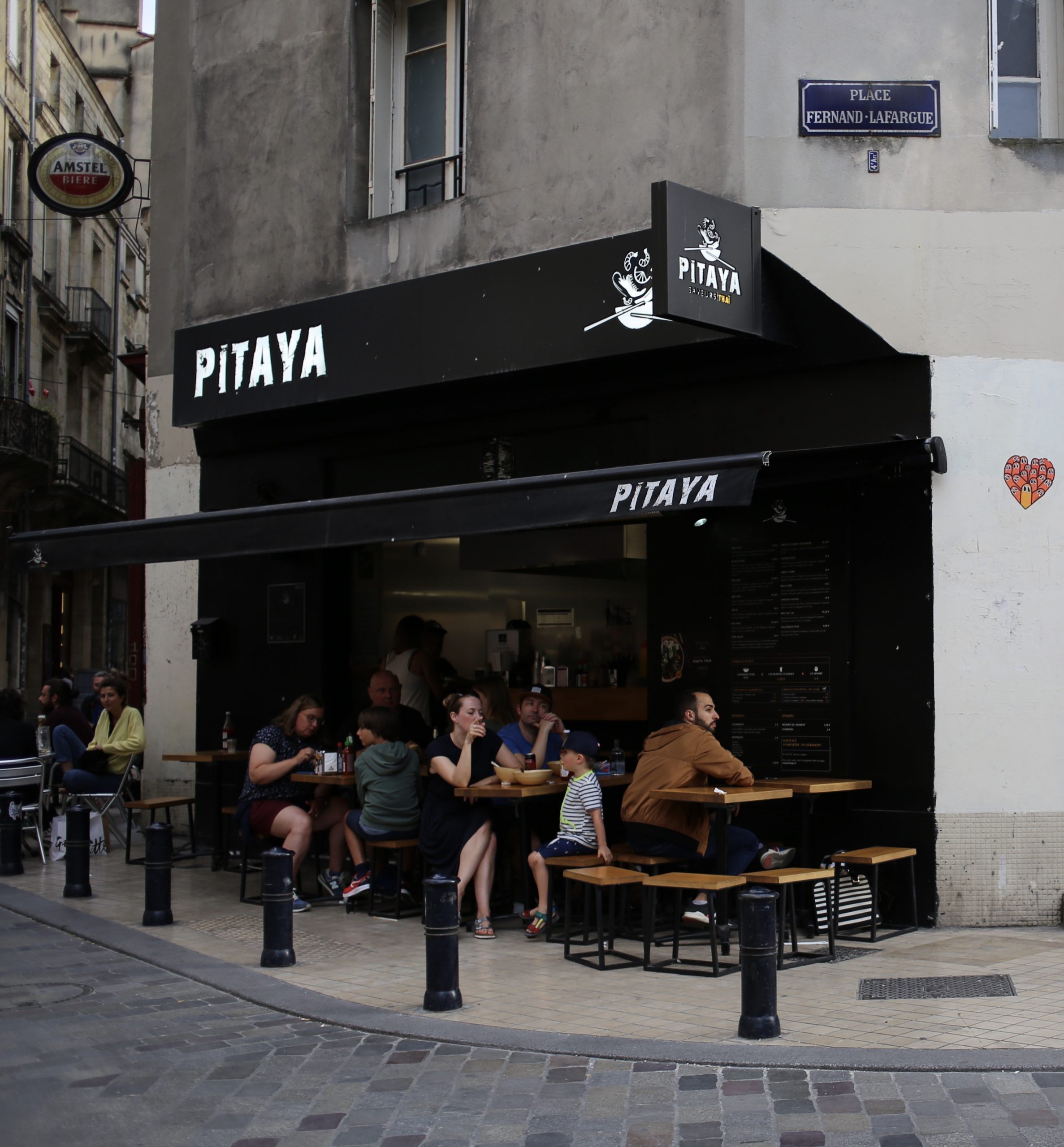 Pitaya, Place Fernand-Lafargue, Bordeaux, France