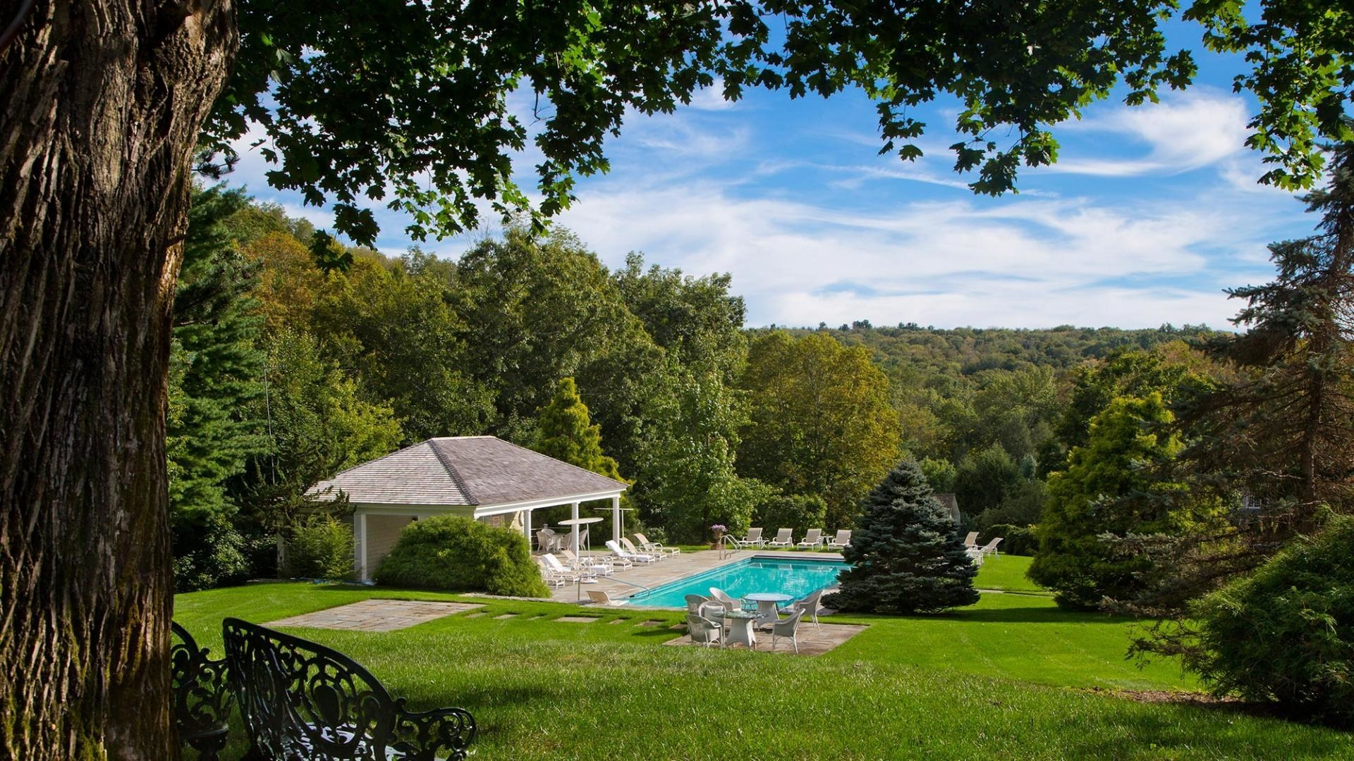 The Mayflower Inn and Spa is one of several exclusive getaways recommended by luxury travel advisors from Protravel International and Tzell Travel Group.