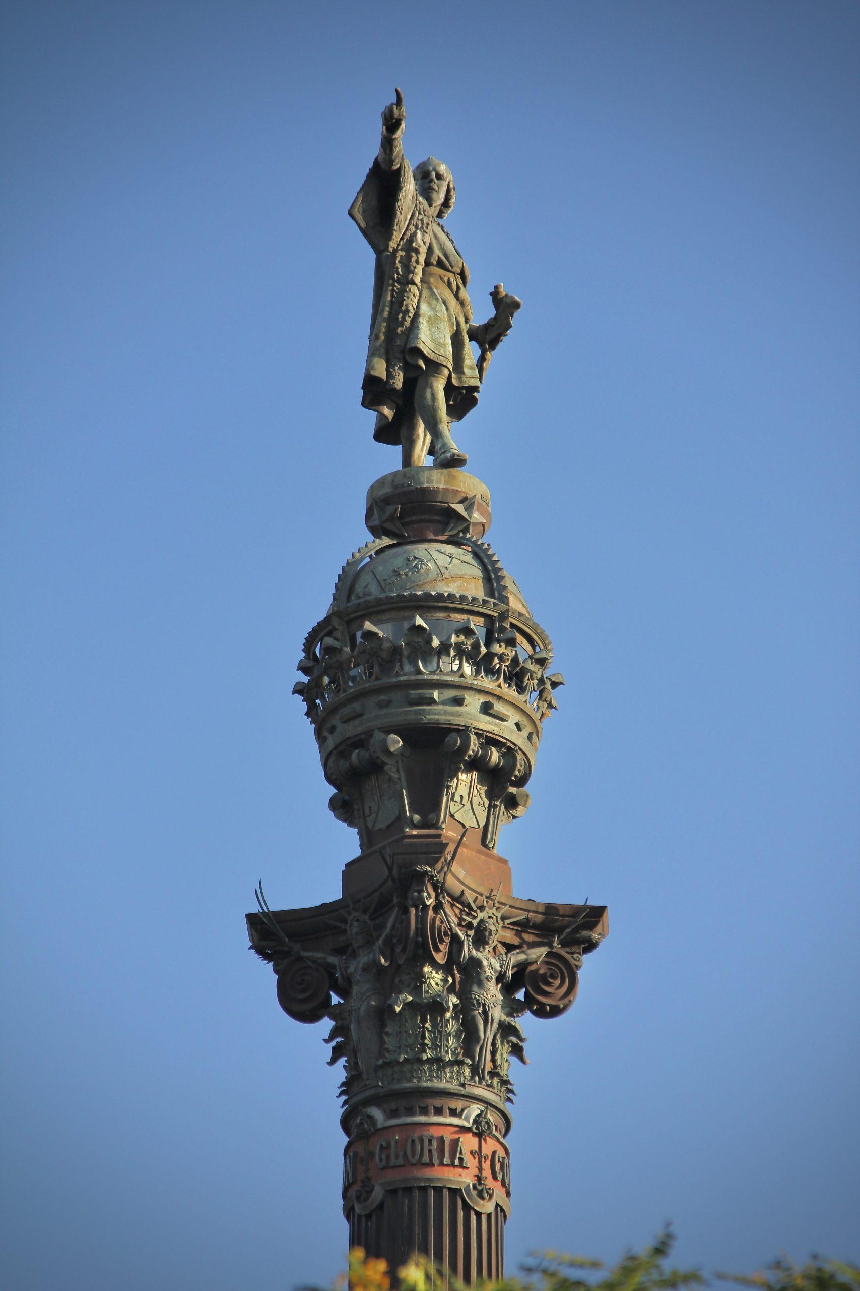 The Columbus Monument (Mirador de Colón), Barcelona