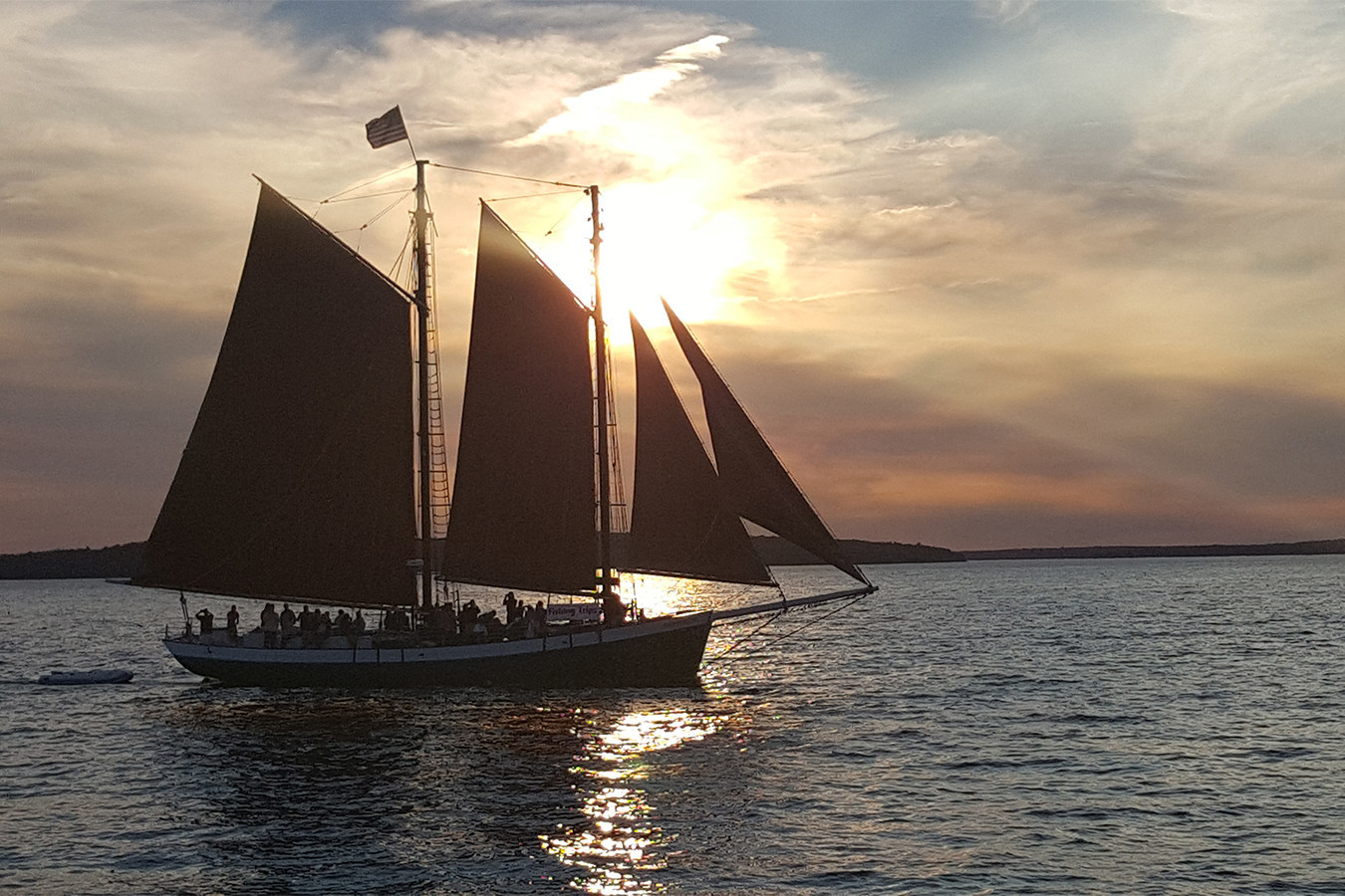 On the all-new Adventures by Disney vacation to New England, guests will explore Bar Harbor, Maine, as they set sail aboard a schooner. The new eight-day, seven-night family vacation, debuting in 2022, will feature famous sites and hidden gems of Vermont, New Hampshire and Maine. (Disney)