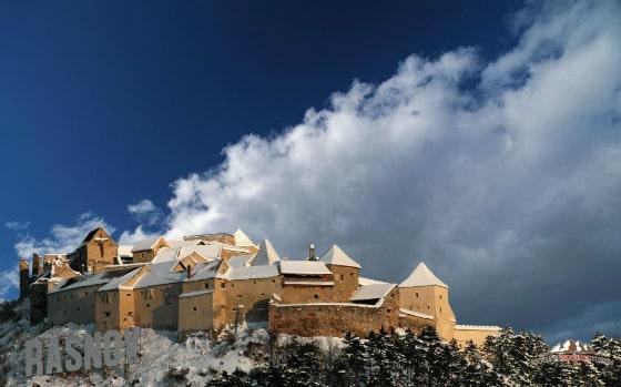 Rasnov Fortress Winter