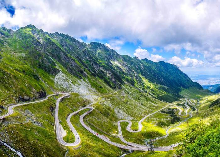 Transfagarasan Road and Medieval City of Sibiu