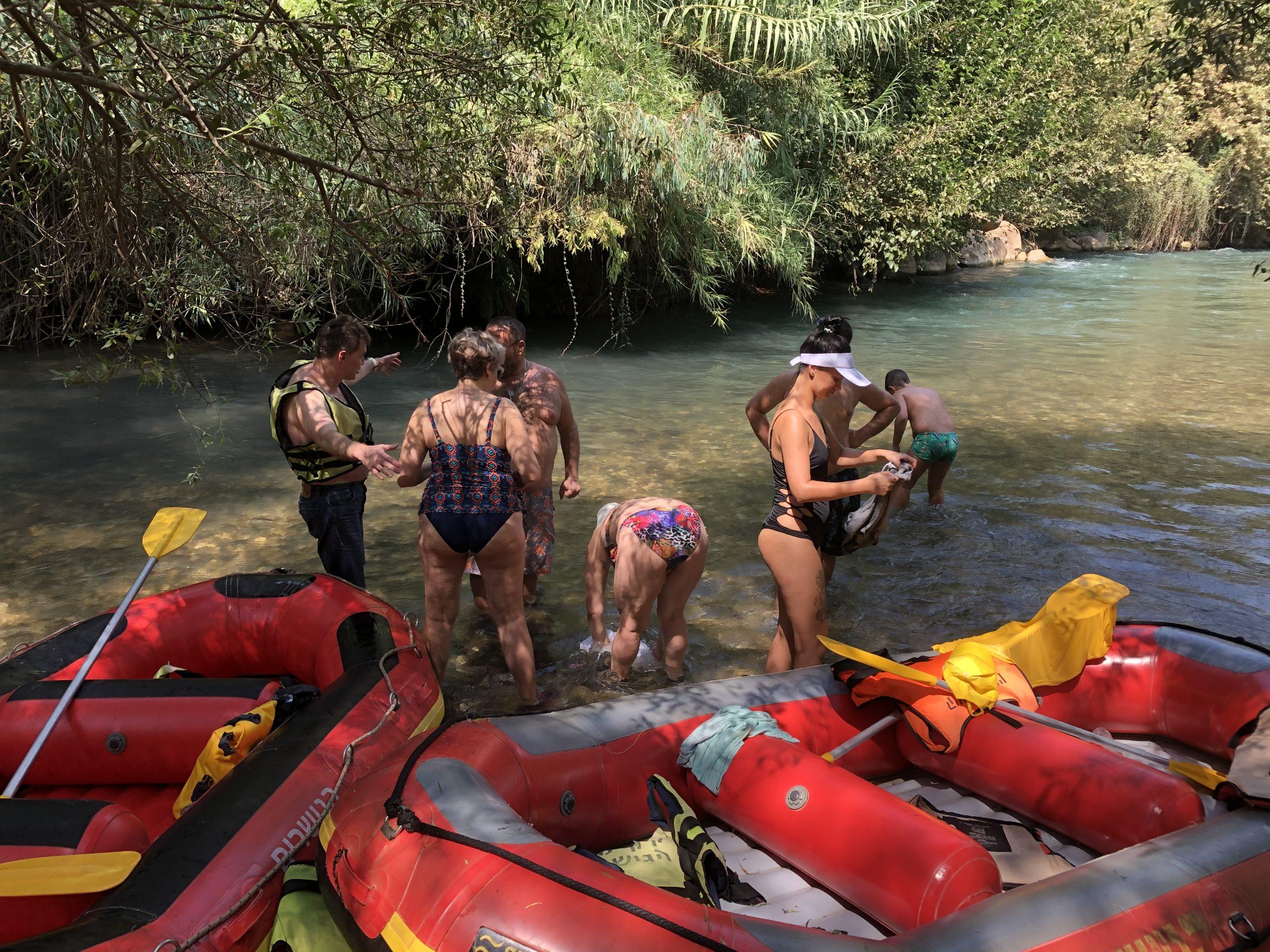 Kayaking In Israel