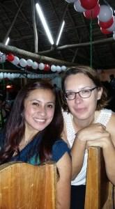 Fernanda und ich