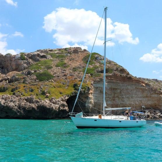 Mallorca by boat