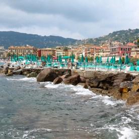 Santa Margherita harbour views