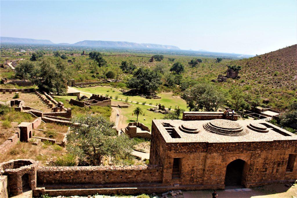 Top of Bhangarh Fort