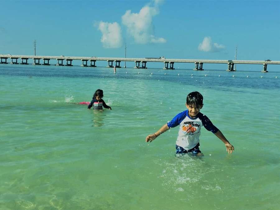 Road trip from Miami to Key West Bahia Honda state park