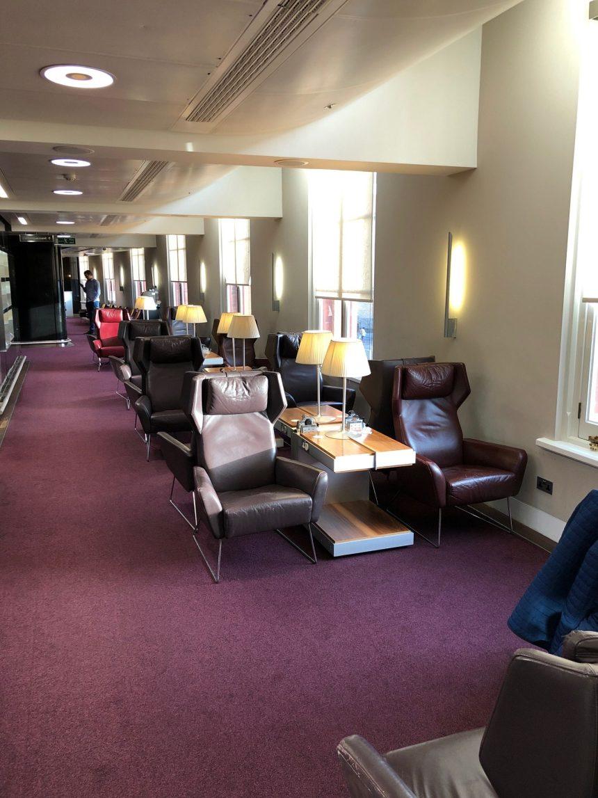 Eurostar Lounge London St Pancras