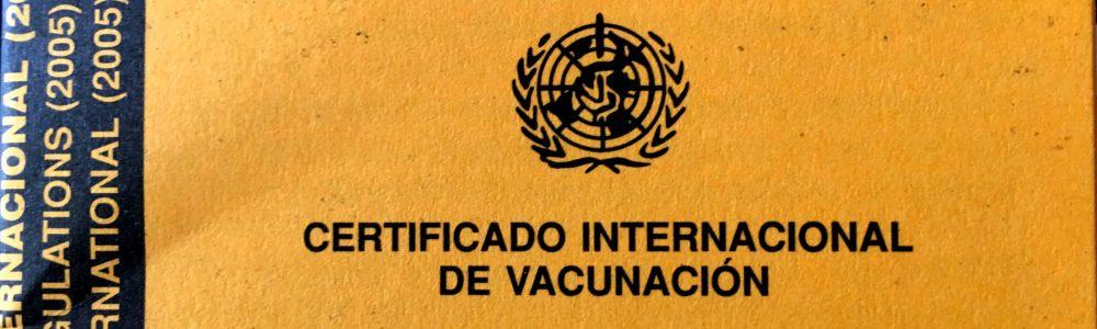¿Qué es y para qué sirve el certificado internacional de vacunación?