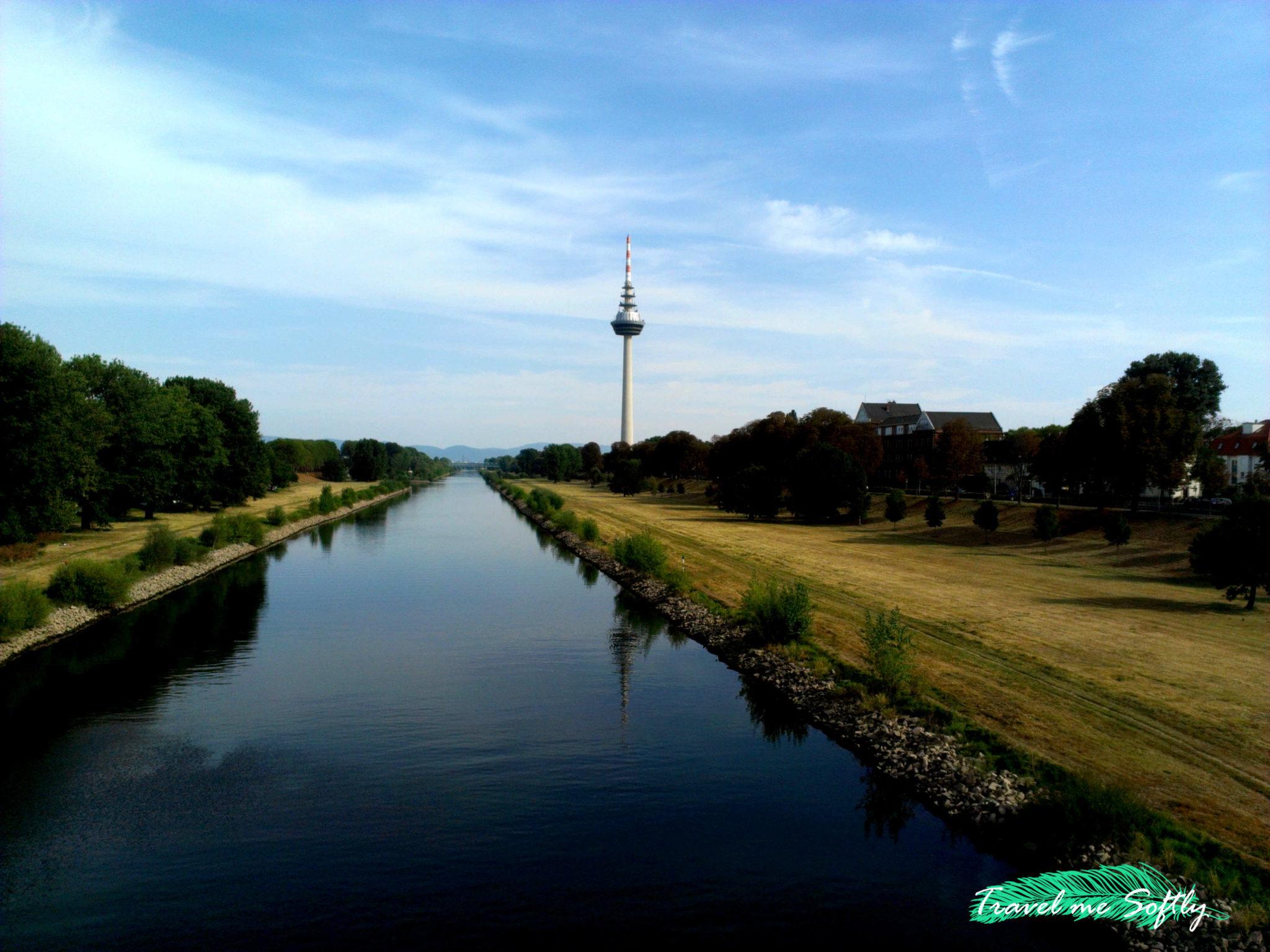 Mannheim rio Neckar