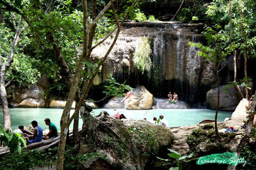 Cascada Erawan Falls