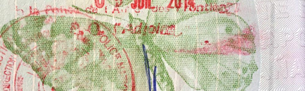 Viajar sin plan mola, pero nunca puedes librarte de organizar la documentación de viaje