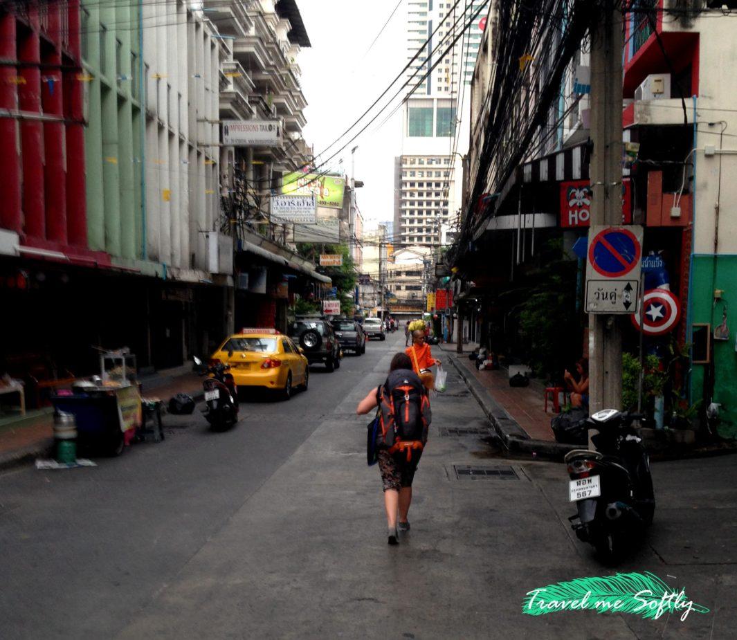 viajar con mochila impermeable