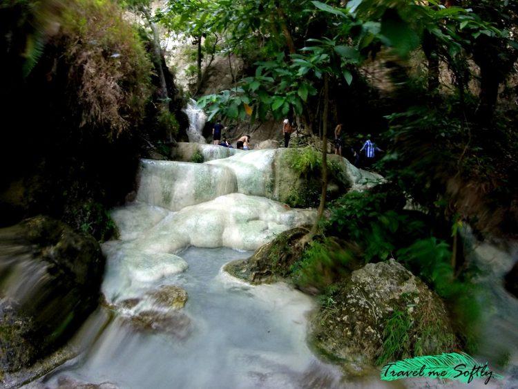 Cascada en Erawan National Park