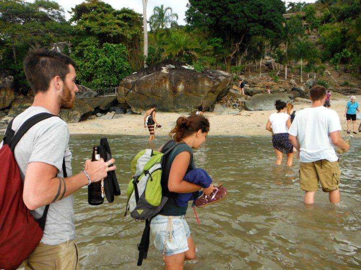 mochila de mochilero turtle cove