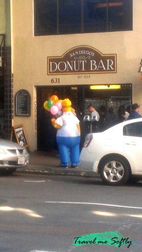 Homer Simpson Donut Bar