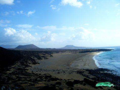 Playa de las conchas isla de la graicosa