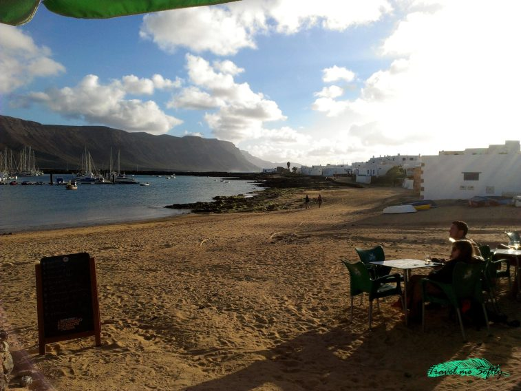 Restaurante el veril isla de La Graciosa